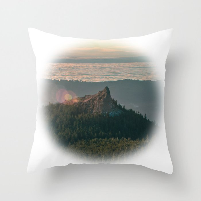 Sturgeon Rock Throw Pillow