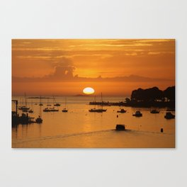 Going out to sea Canvas Print