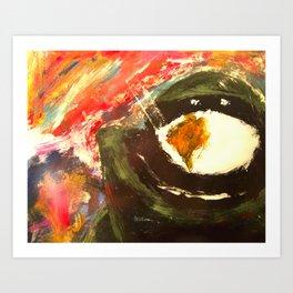 Bomb Suit Visions Art Print