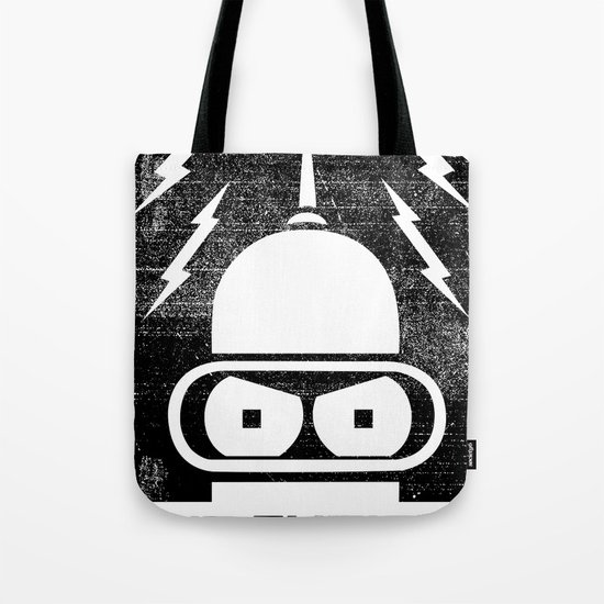 The Future Is Watching Tote Bag