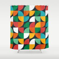 pie Shower Curtains featuring Pie in the sky by Picomodi