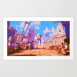 Columbia - The City in the Sky Art Print