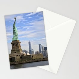 Lady of Freedom Stationery Cards