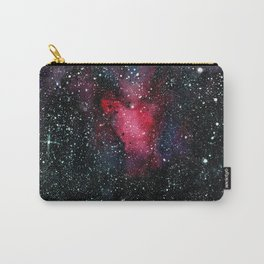 Red Cosmos Art Painting Carry-All Pouch