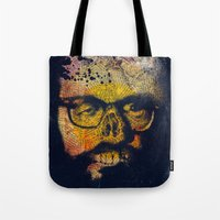 howl Tote Bags featuring Howl by Alec Goss