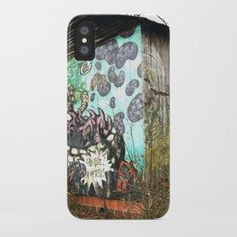 graffiti barn iPhone Case