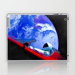 Tesla's Starman Laptop & iPad Skin