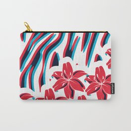 Lillys and Zebras Carry-All Pouch