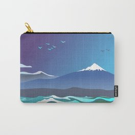 Mont Taranaki From The Sea Carry-All Pouch