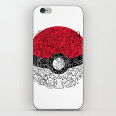 ONE BALL TO CATCH THEM ALL iPhone Skin