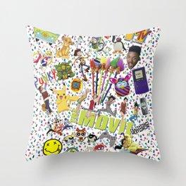 90s KID Throw Pillow