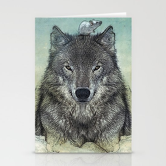 force and tiny Stationery Cards