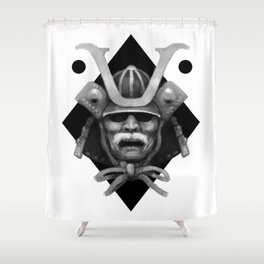 Kabuto Shower Curtain