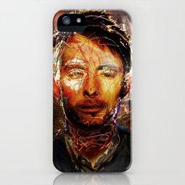 The Portrait Eraser (Thom Yorke) iPhone Case