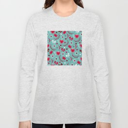 Valentine's Day: Keys to Unlock the Heart Long Sleeve T-shirt