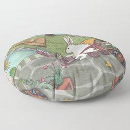 Summer Morning Floor Pillow