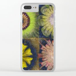 Methylator Structure Flowers  ID:16165-011604-36970 Clear iPhone Case