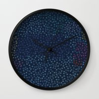 constellations Wall Clocks featuring Constellations by datavis/pwowk