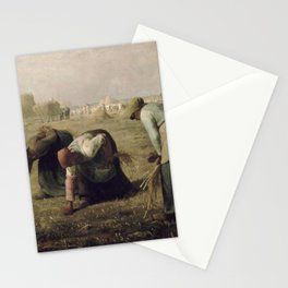 Jean-François Millet - The Gleaners Stationery Cards