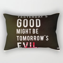 Metal Gear Solid Quote Rectangular Pillow