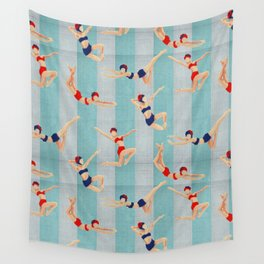 The Swimmers Wall Tapestry