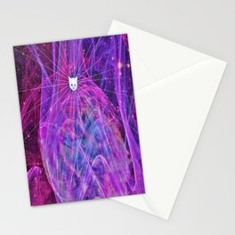 Abstract 3rd Eye Kitten2 Stationery Cards