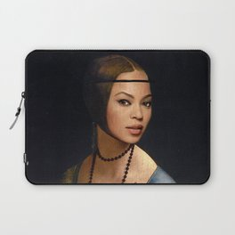 Bey Plays with the Family Ferret Laptop Sleeve
