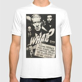 """WHAT?"" ‒ a noir Twin Peaks spin-off movie T-shirt"
