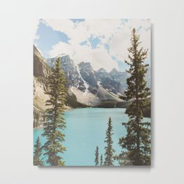Moraine Lake II Banff National Park Metal Print