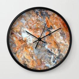 Rusty Rock Textures 47 Wall Clock