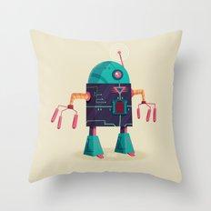:::Mini Robot-Arpax::: Throw Pillow