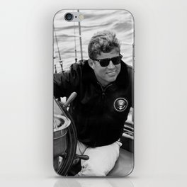 President John Kennedy Sailing iPhone Skin