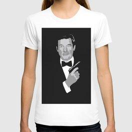 Roger Moore 007 T-shirt
