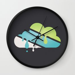 STAY INDOORS Wall Clock