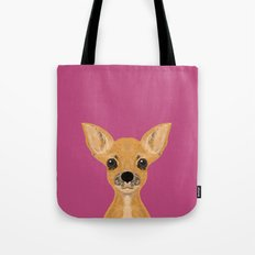 Lulu - chihuahua, cute pet cute dog cell phone case, gift for dog people Tote Bag