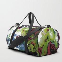 Fluid Abstract 21 Duffle Bag