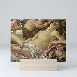 """Sandro Botticelli """"Venus and Mars"""" Mars Mini Art Print"""
