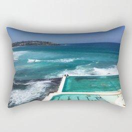 Bondi Icebergs, Sydney, Australia Rectangular Pillow