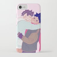 viria iPhone & iPod Cases featuring tiny iwaois by viria