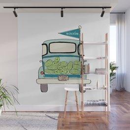 Watermelon Truck Wall Mural