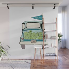 Watermelon Truck Wall Mural