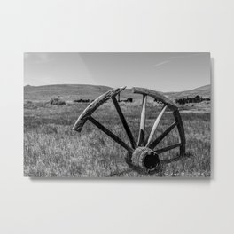 Wagon Wheel -  Metal Print