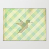 origami Canvas Prints featuring Origami by Mr and Mrs Quirynen