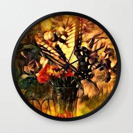 A Butterfly Dream Wall Clock