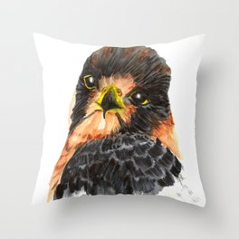 Glamour Falcon Throw Pillow