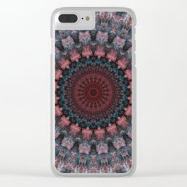 Mandala ghosts defence Clear iPhone Case