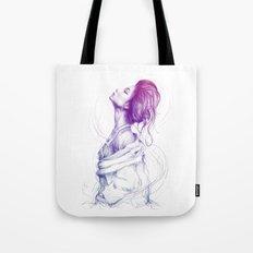 Beautiful Woman Lady Portrait Fashion Art Tote Bag