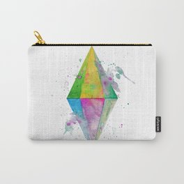 Watercolor Plumbob Carry-All Pouch