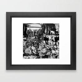 Front Terror Framed Art Print