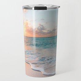 Pink Sea Travel Mug